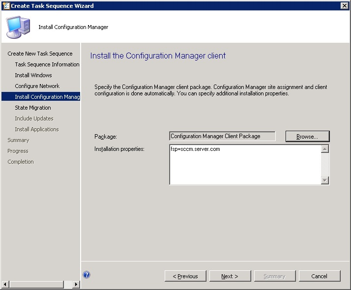do you include application on mdt usb image