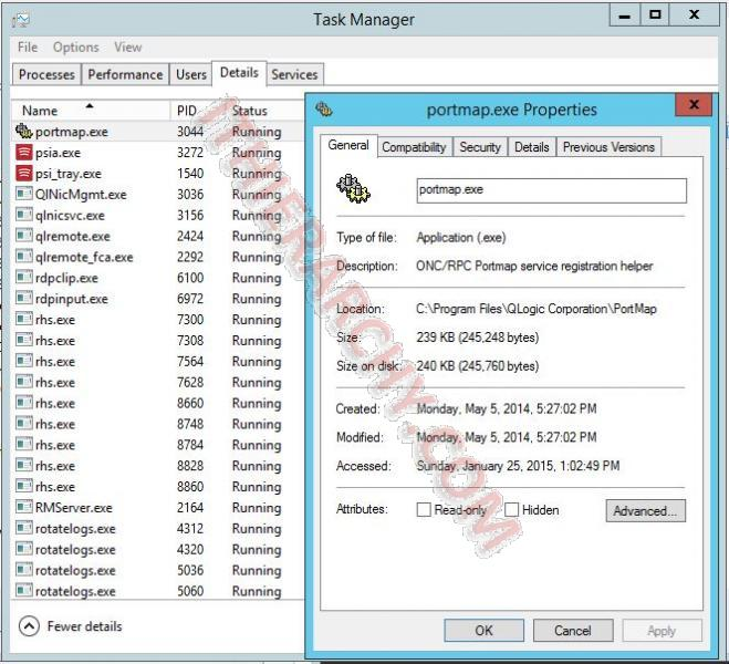 Windows Server 2012 R2 Install NFS Role: Installation of one or more